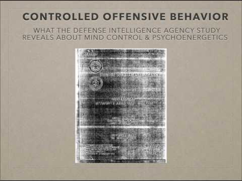 Controlled Offensive Behavior - The Defense Intelligence Agency Report Deciphered - Intro