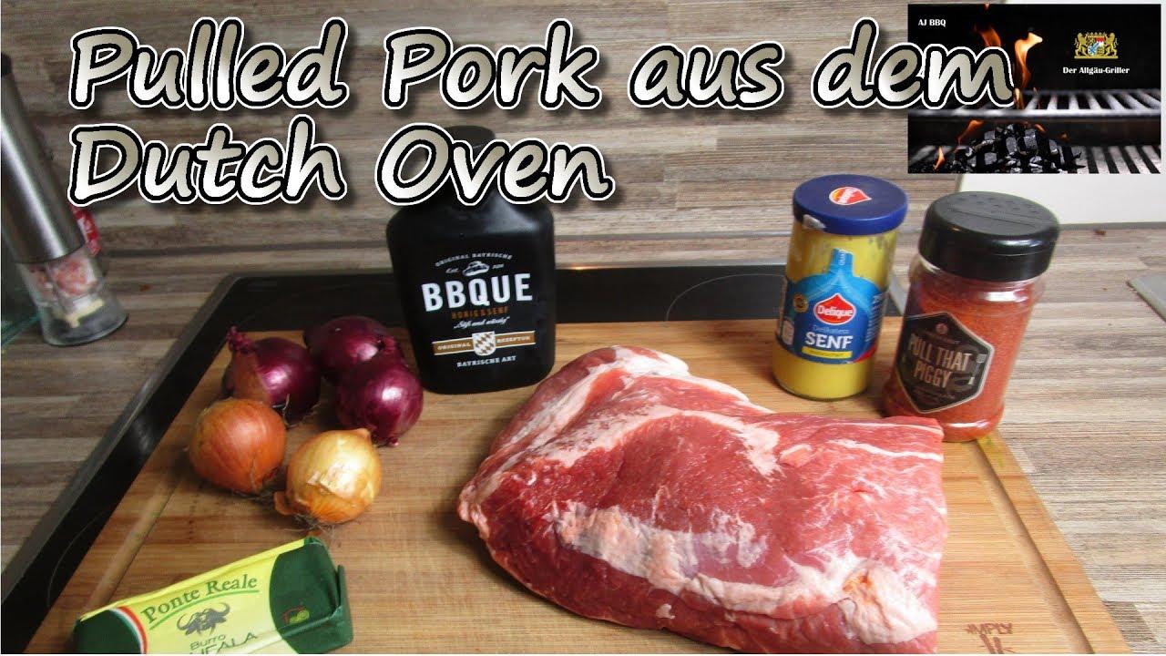 Cobb Gasgrill Pulled Pork : Dutch oven pulled pork wraps eine leichte schnelle und vorallem