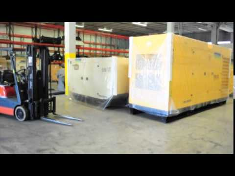 Aksa Generators In Miami - Ready For Distribution Into Latin America