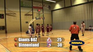Giants BOZ U20 vs Binnenland U20