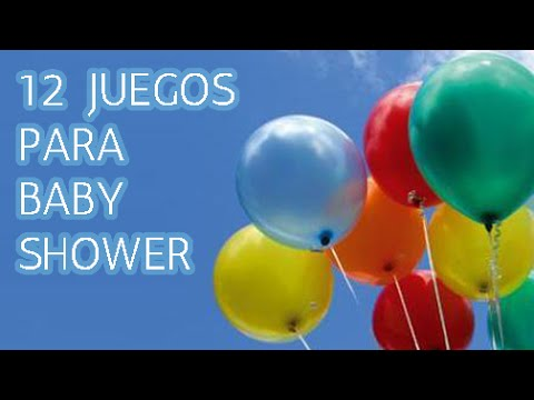 12 Juegos Muy Divertidos Para Baby Shower Hd Youtube