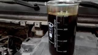 Сколько остается старого масла в двигателе при его замене.