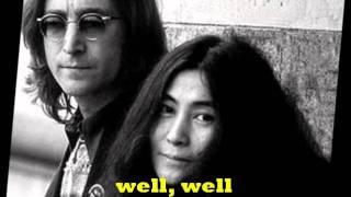 John Lennon-Woman With Lyrics