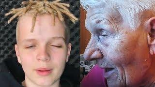 Reakcja babci na CZUUX - O co Ci chodzi? - babcia hejtuje