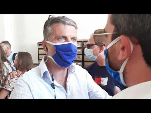 """Giuseppe Alviti:"""" vicinanza alla giornalista aggredita a Napoli dal servizio d'ordine di Fdi prima della conferenza stampa di Giorgia Meloni"""