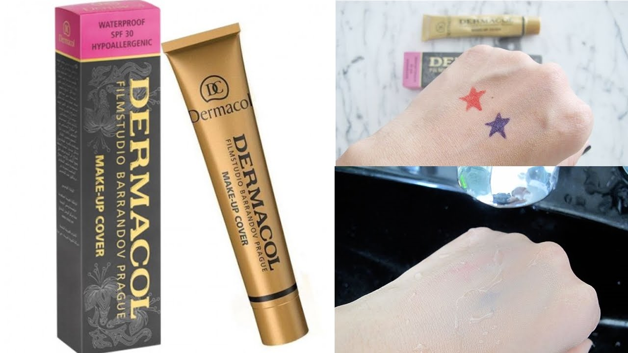 dermacol base make up cover super base de maquillaje youtube. Black Bedroom Furniture Sets. Home Design Ideas