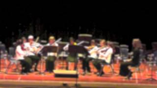 Elemental Strings Chamber Orchestra 2nd violins perform Sweet Betsy from Pike