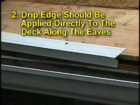 JLS Roofing Pros  The Importance Of Drip Edge For Roofing   YouTube