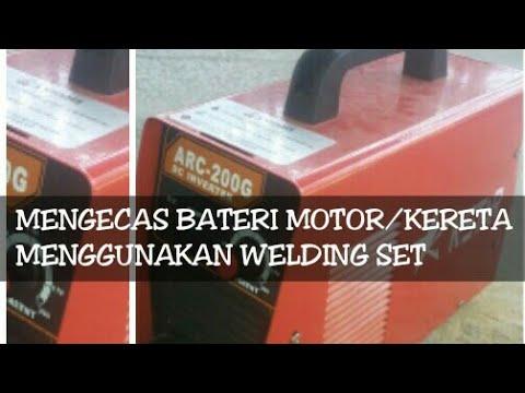 Cara Mengecas Batery Motor Kereta
