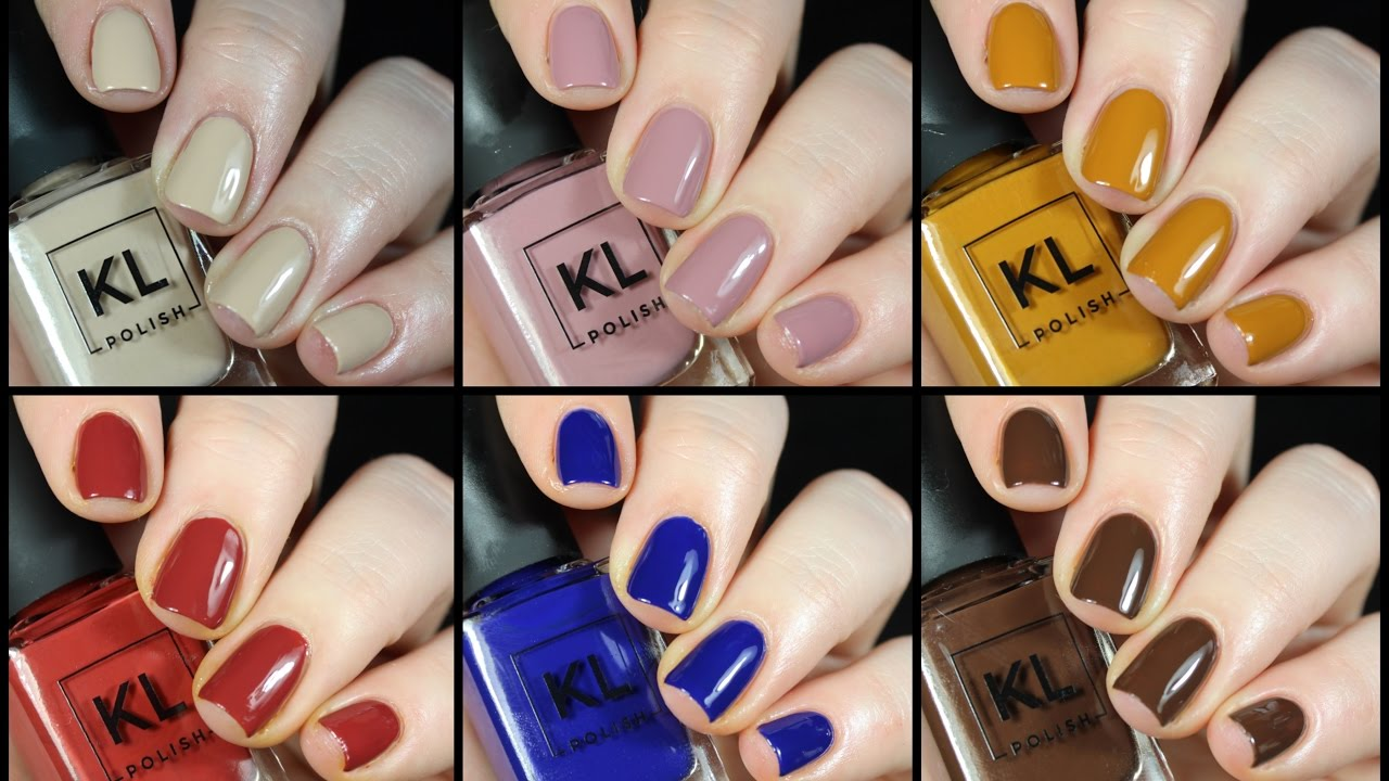 KL Polish by Kathleen Lights Live Swatch + Review!! - YouTube