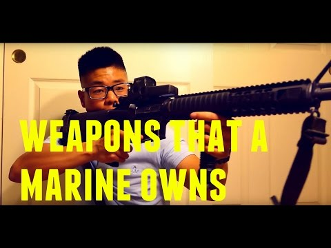 Gun Vlogs #1| Weapons that a Marine Owns
