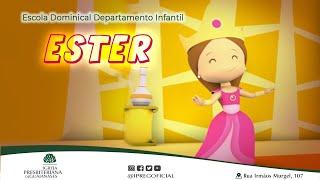 Ester - Aula do Departamento infantil da IPREG