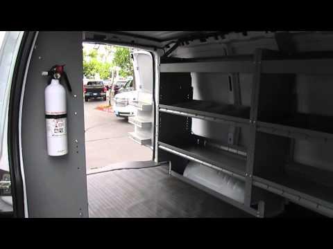 Harbor Van Interior Package On Chevy Cargo Van