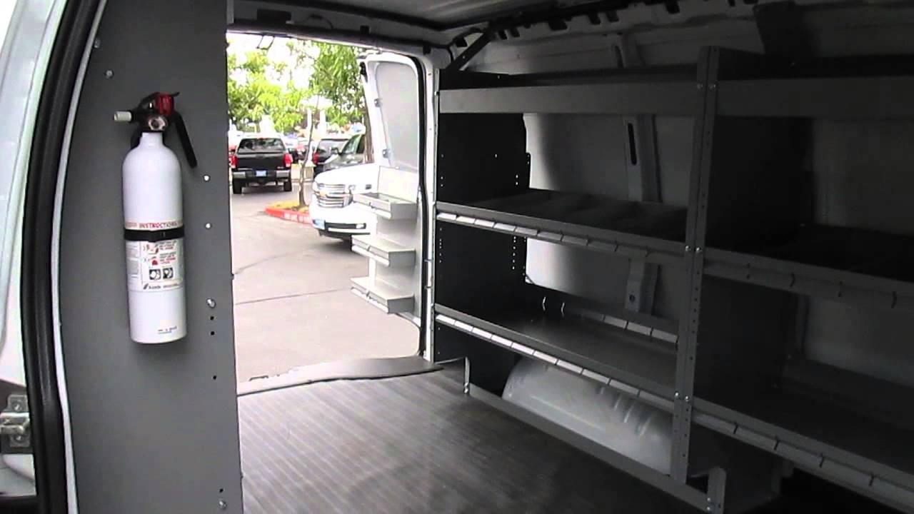 Chevy Express Van >> Harbor Van Interior Package On Chevy Cargo Van - YouTube