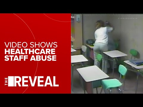 Video shows healthcare staff punching and beating disabled man with belt from YouTube · Duration:  1 minutes 25 seconds