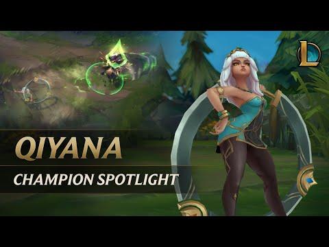 Qiyana Champion Spotlight | Gameplay - League of Legends
