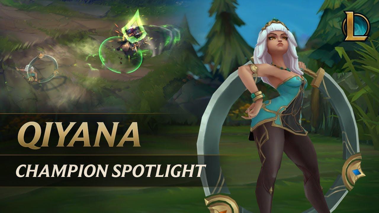 Qiyana Champion Spotlight Gameplay League Of Legends