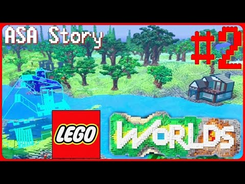 LEGO Worlds - Construction + Montures #2 FR