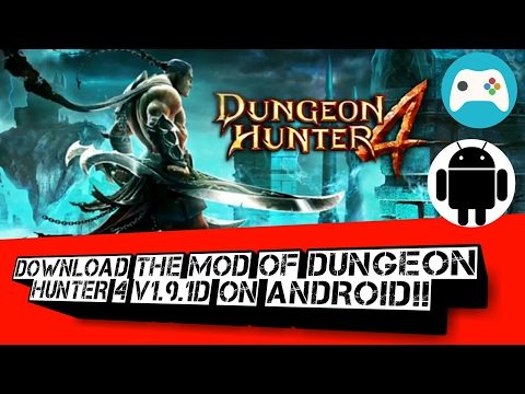 Download And Install The Latest Mod Of Dungeon Hunter 4 V1.9.1d On Any Android Device!!