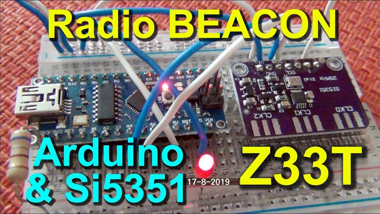 Repeat Automatic Programmable CW Beacon 4kHz to 225 MHz with