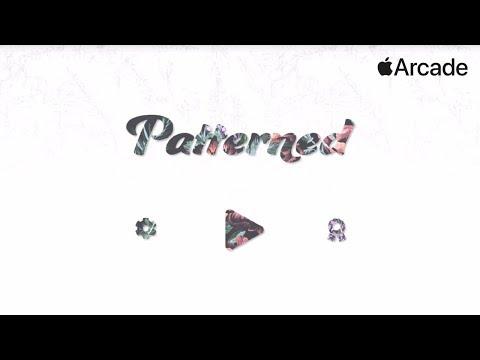Patterned by BorderLeap - iOS / APPLE ARCADE GAMEPLAY