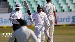 I enjoy the chat from the Aussies: Markram