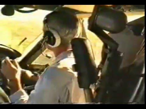 Antonov An-12 low flight