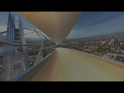 Slide down The Shard at 100 miles per-hour