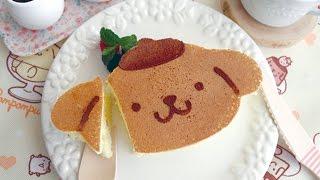Pompompurin Pancakes 【再現シリーズ】プリンの分厚いパンケーキ