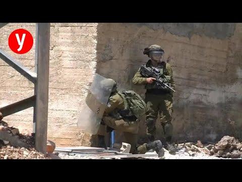 עימותים צה'ל פלסטינים שכם