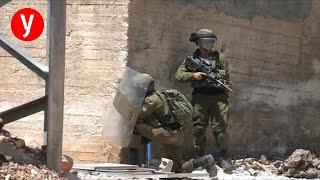 """עימותים צה""""ל פלסטינים שכם"""