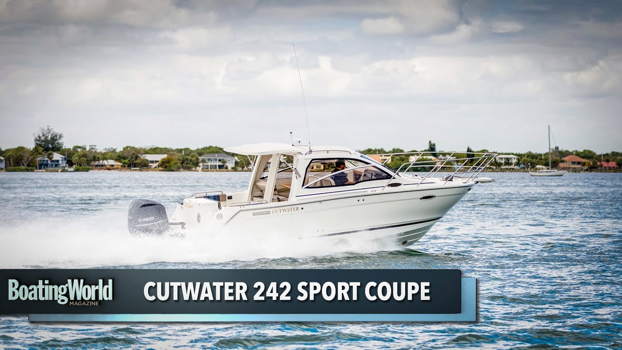 Cutwater 242 Sport Coupe – Boat Test