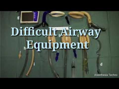 Difficult Airway Equipment