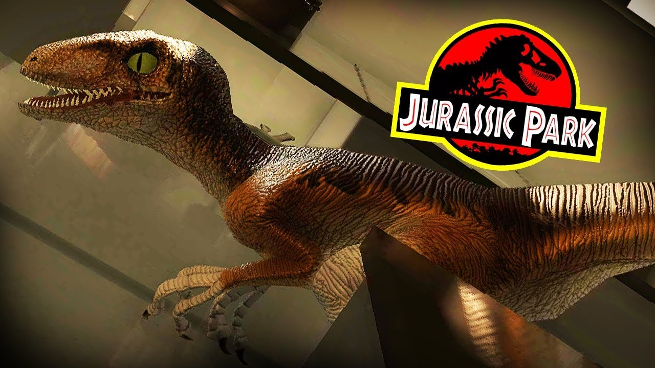 Jurassic park kitchen raptors can you survive raptors free dinosaur game youtube - Raptor dinosaure ...