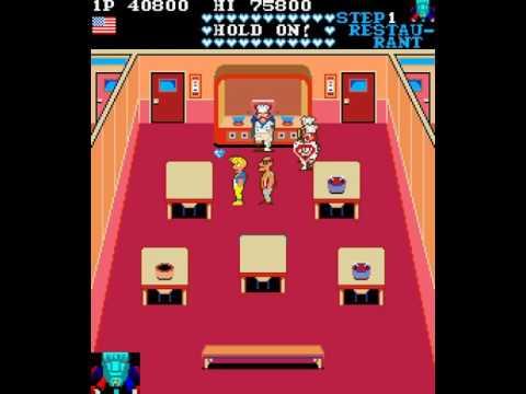 Arcade Game: Mikie (1984 Konami)