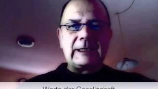 Mizerovsky´s Video Blog: Werte in der heutigen Zeit