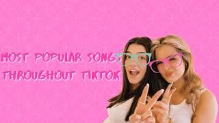 Most popular songs throughout tiktok: 2019/2020 tiktok playlist