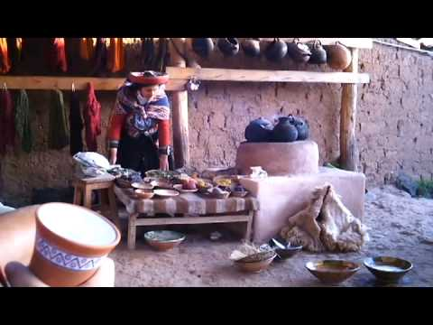 See how Alpaca Fleece gets washed, spun, dyed, and woven!