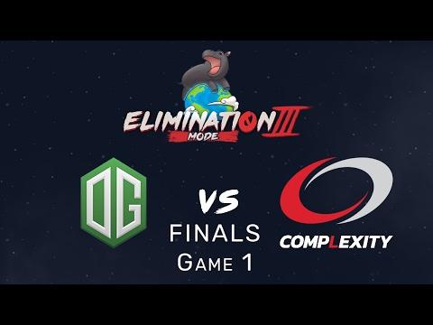 Elimination Mode 3 - Grand Finals - OG vs Complexity - Game 1