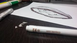 How to draw a pro row boat