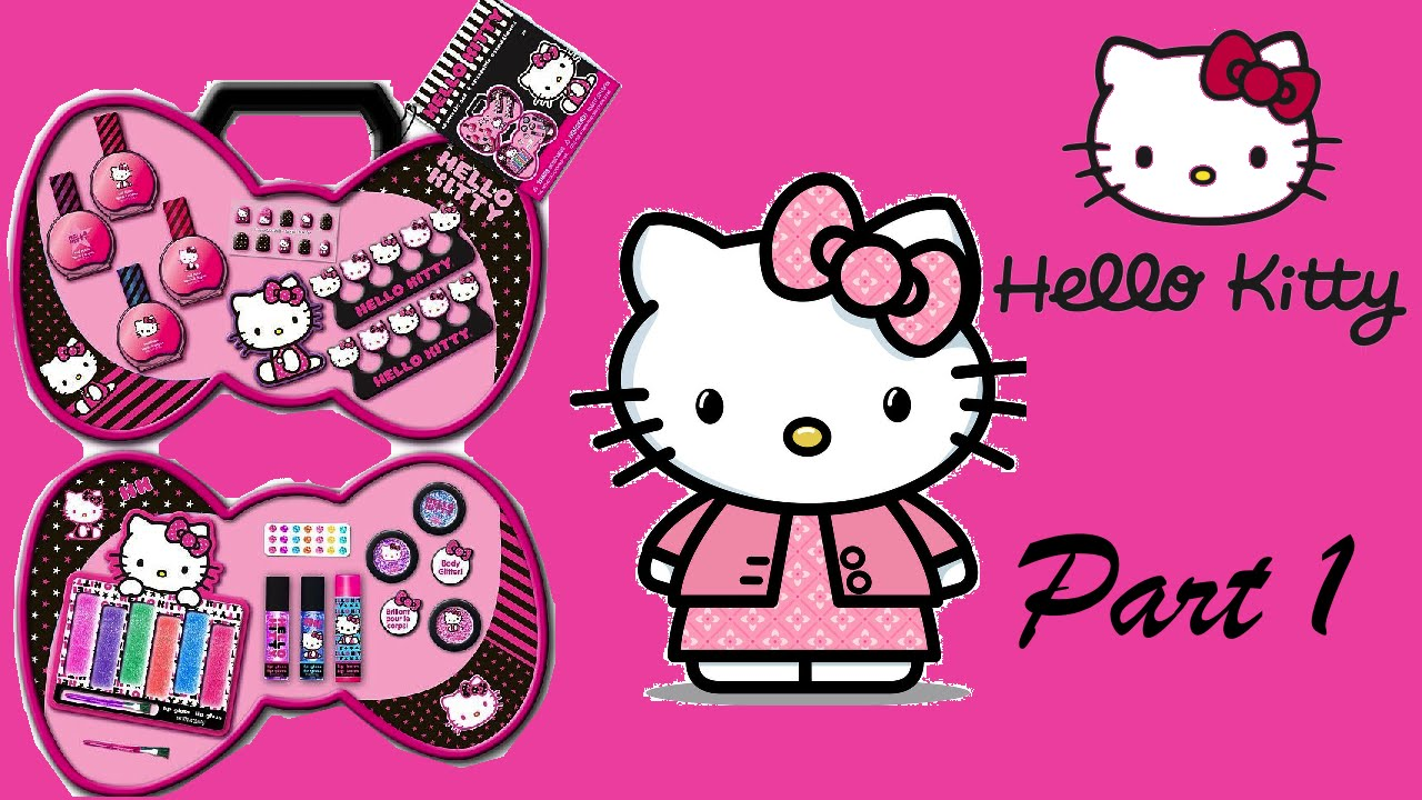 2019 year for women- Kitty hello makeup set for kids