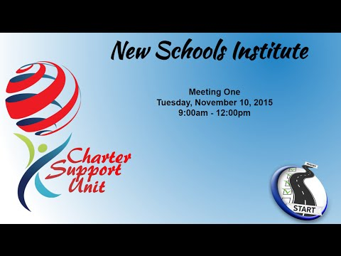 CSU New School Institute Training #1