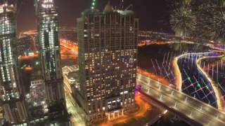 dubai water canal opens alongside al habtoor city time lapse