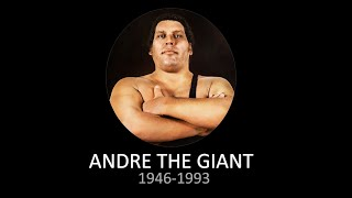WWE Andre the Giant Tribute (1946-1993)