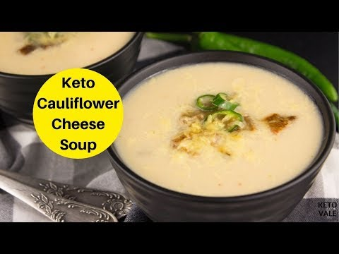 Slow Cooker Cheese Cauliflower Soup Low Carb Keto-friendly Recipe