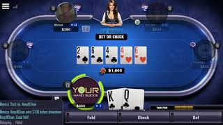 World Series Of Poker – WSOP Mobile Poker Game Play