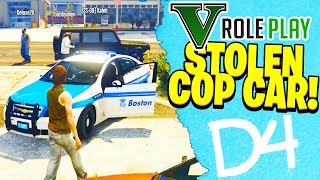 I STOLE A COP CAR! - GTA 5 ROLEPLAY #2