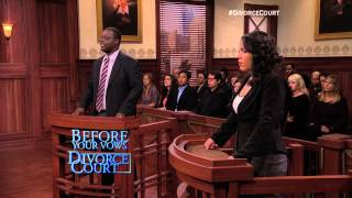 'He Dumped Water On My While Sleeping' on DIVORCE COURT