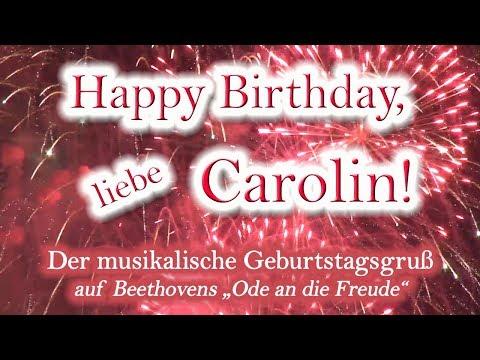 Happy Birthday, liebe Carolin! Alles Gute zum Geburtstag!