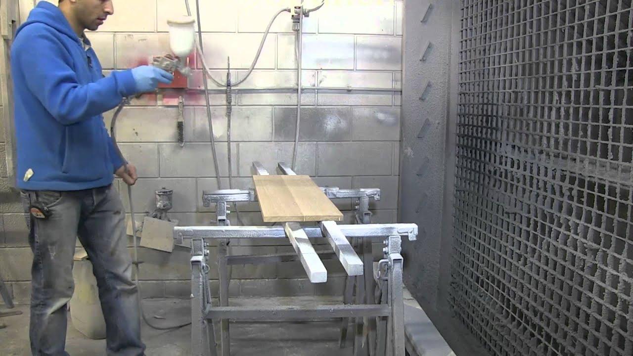 Eiken Keuken Lakken : Beitsen en lakken van een eiken kast bij Wortman Maatwerk